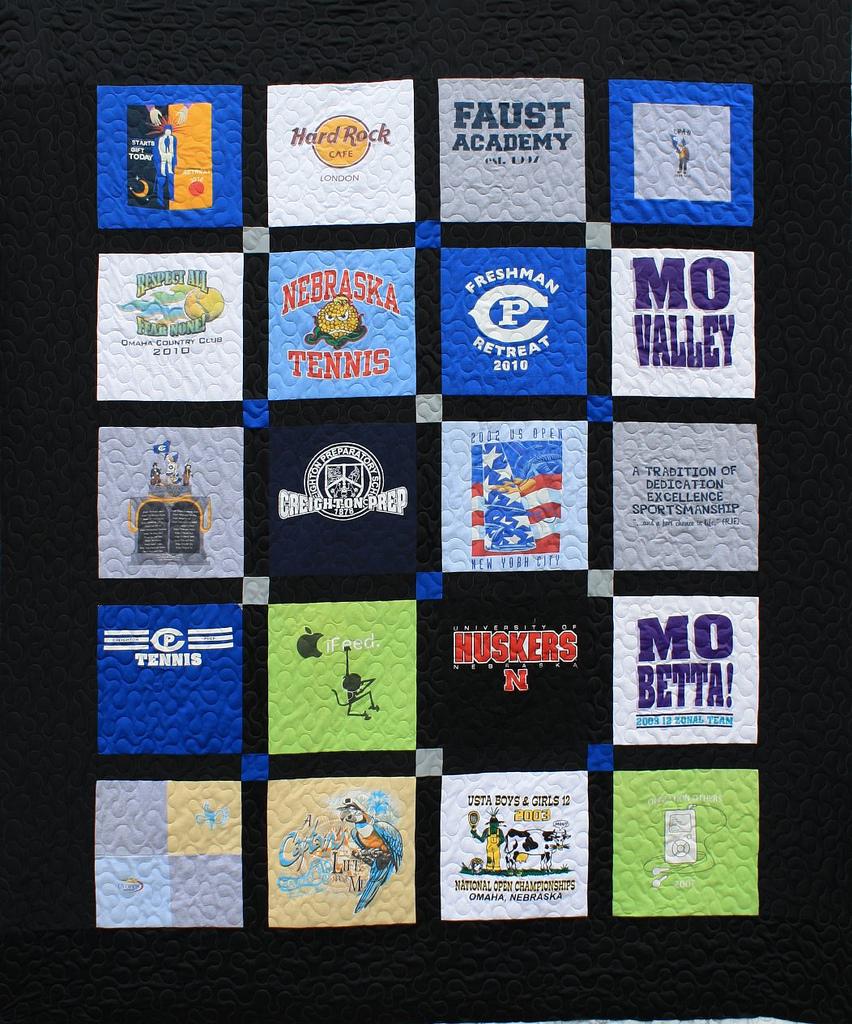 T Shirt Quilt Omaha