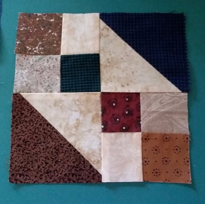 how to make quilt blocks from scraps