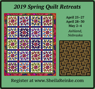 Quilt Retreats in Nebraska
