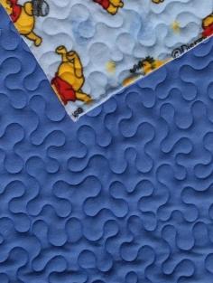 Fleece Quilt Winnie the Pooh