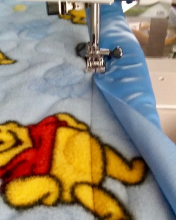 How to Add Satin Binding to a Fleece Quilt